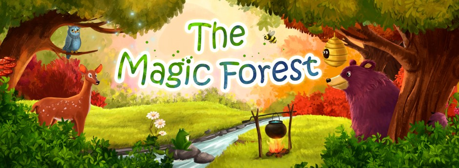 THE MAGIC FOREST. What extraordinary creatures hinhabit the woods at night!